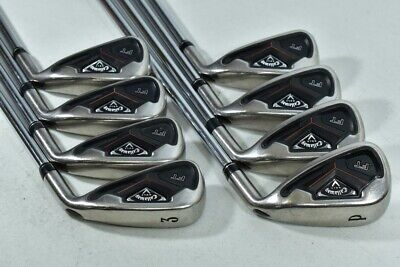 Callaway FT 3-PW Iron Set Right Project X Flighted 5.0 Regular Steel # 86853