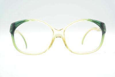 Vintage Christian Dior 2036 60 Grün oval Brille Brillengestell eyeglasses NOS