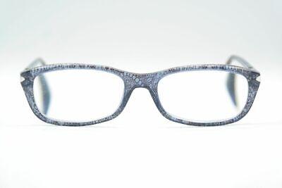 Prada Jax 101 Blau oval Brille Brillengestell eyeglasses