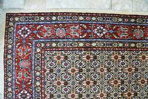 SUPERFINE QUALITY WOOL & SILKINLAID HAND WOVEN PERSIAN MOOD RUG North Sydney North Sydney Area Preview