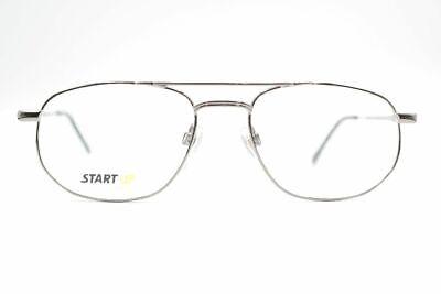 Start up Bi 7492-14 52 18 140 Silver Oval Sunglasses Frame Eyeglasses (Sunglasses Startup)