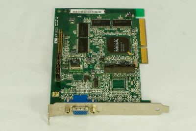 MATROX AGP VGA Video Card 815-01 REV: A Grafikkarte #31T - Agp Vga Video Card