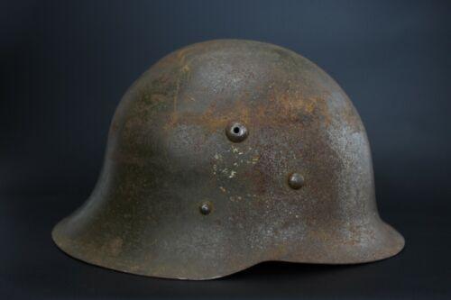 WWII BULGARIAN DECAL 1936 M36 HELMET STEEL COMBAT MILITARY GERMAN TYPE WW2