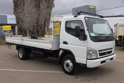 2008 Mitsubishi Canter T/Top with Crane, Stock 783