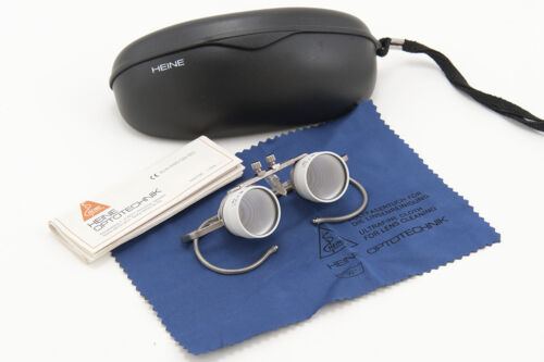 Heine 2.3x 450Mn magnifying glasses loupe