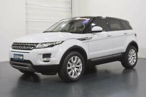 2015 Land Rover Range Rover Evoque L538 MY15 TD4 White Sports Automatic Wagon