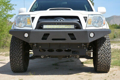 Tacoma 05 15 Front Bumper All Models Winch Ready LED Offroad Steel