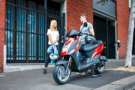 Agility 50 4T: $2190 Ride-away with 3 Years warranty