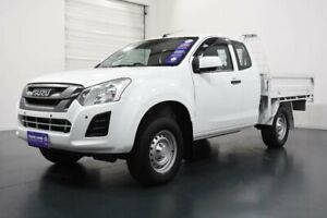 2017 Isuzu D-MAX TF MY17 SX (4x4) White 6 Speed Automatic Space Cab Chassis