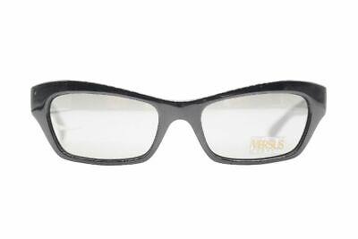 Vintage Versus E91/1 Schwarz oval Sonnenbrille sunglasses Brille NOS