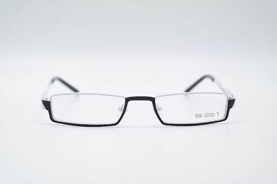 Marion Ramm Na Und? 02F275 49[]18 145 Schwarz Weiß eckig Brille eyeglasses Neu