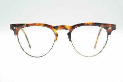 Vintage Police 4044 426 Frame Italy Braun oval Brille Brillengestell NOS