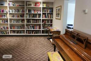 Chatham 2 Bedroom Apartment for Rent: Dishwasher, Library, Gym