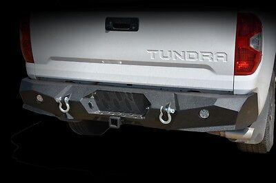 2014-2018 Toyota Tundra Rear Bumper Steel  KO Offroad Black Powder