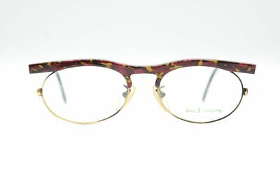 Vintage Best Company Best 65 Red Gold Oval Glasses Frames Eyeglasses (Best New Glasses Frames)