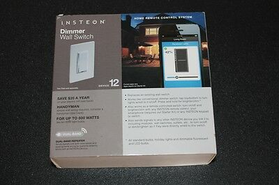 INSTEON 2432-292 DIMMER WALL SWITCH HOME REMOTE SYST.NEW IN BOX FREE SHIPPING