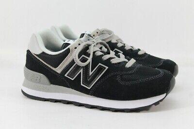 New Balance 574 Core Evergreen Lifestyle Women's Black Sneaker 6.5M(ZAP5627)