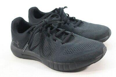 Under Armour Women's UA Micro G Pursuit Black Running Shoes 8.5M