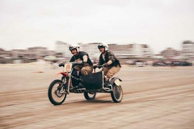 Yamaha YZ490 sidecar combination sidecar cross beach race two stroke twin shock