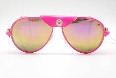 Vintage IDC Lunettes Neon Vintage 58[]17 Pink oval Sonnenbrille sunglasses NOS