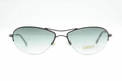 Versus R98 Schwarz  halbrand Sonnenbrille sunglasses Brille Neu