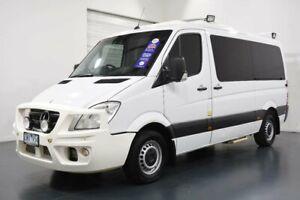 2013 Mercedes-Benz Sprinter NCV3 MY13 319CDI Low Roof MWB 7G-Tronic White Sports Automatic Van