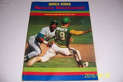 1973 Sports Illustrated Oakland As  New York Mets World Series News Stand N Lab