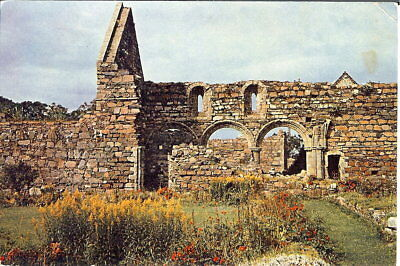 Scotland: Nunnery Ruins and Garden, Iona - Posted 1971