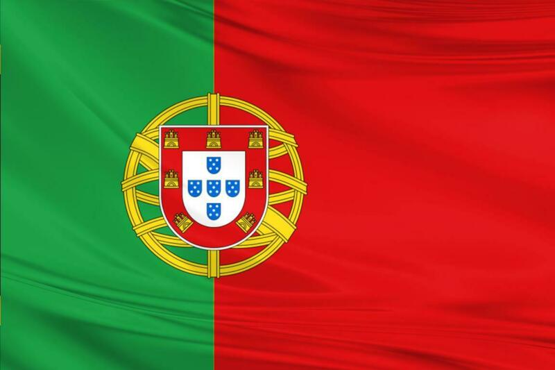 Portugal Flag 5x3/150x90cm Large Polyester Portuguese Europe Football Sport
