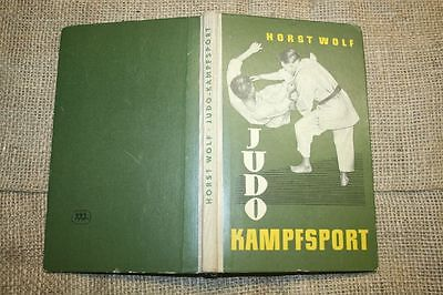 altes Lehrbuch Judo, Kampfsport, Ausbildung, Bilder, Anleitung, DDR 1961