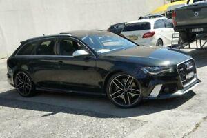 2014 Audi RS 6 4GL Avant Black 8 Speed Automatic Wagon Homebush Strathfield Area Preview
