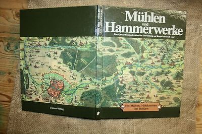 Fachbuch Mühlen, Hammerwerke, Müller, Wehre, Mühlrad, Wasserräder