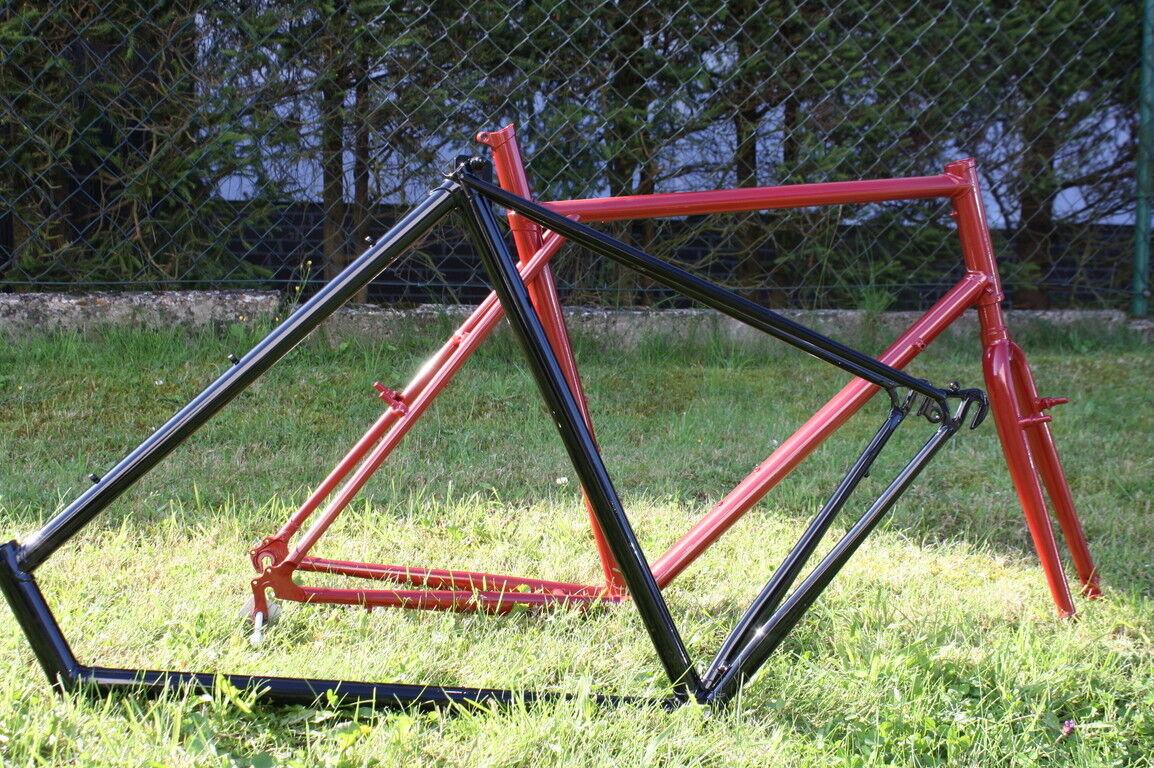 Fahrradrahmen und Gabel Pulverbeschichten Fahrrad Pulverbeschichtung ...
