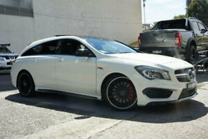 2016 Mercedes-Benz CLA45 117 MY15 AMG White 7 Speed Automatic Coupe Homebush Strathfield Area Preview