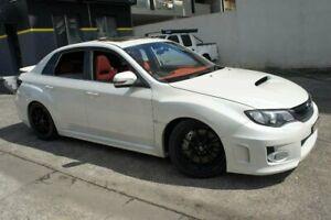 2013 Subaru WRX MY13 (AWD) White 5 Speed Manual Sedan Homebush Strathfield Area Preview