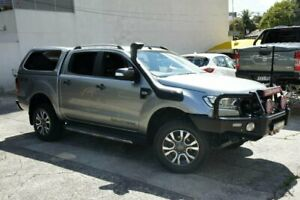 2016 Ford Ranger PX MkII MY17 Wildtrak 3.2 (4x4) Silver 6 Speed Automatic Dual Cab Pick-up Homebush Strathfield Area Preview