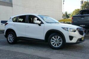 2013 Mazda CX-5 MY13 Maxx (4x4) White 6 Speed Automatic Wagon Homebush Strathfield Area Preview