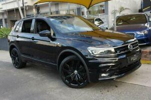 2018 Volkswagen Tiguan 5NA MY19 Wolfsburg Edition Black 7 Speed Auto Direct Shift Wagon Homebush Strathfield Area Preview