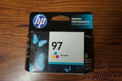 New Factory Sealed Box Genuine OEM HP 97 Tri-Color Inkjet C9363WN NOV 2013