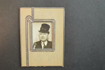 Vintage Photo Booth Man in Top Hat & Saxophone 916096