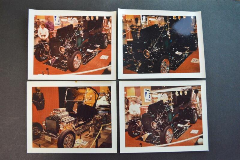 Vintage Polaroid Photos Model T Ford Custom Cars 900052