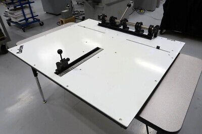 Carlson Plate Punch Excellent Condition 30.5 Plates Heidelberg Ryobi Ab Dick