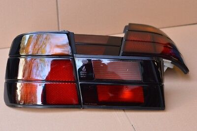 CLEAR BLACK REAR LIGHT TAIL LIGHT BMW E34 M5 Genuine 1988-1995  SET copy MHW ()