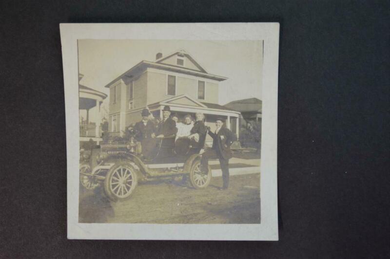 Vintage Car Photo circa 1906 REO Model A 941027