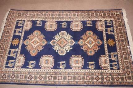 Persian Wool Rug Ardabil 163x245cm Authentic Unique Genuine