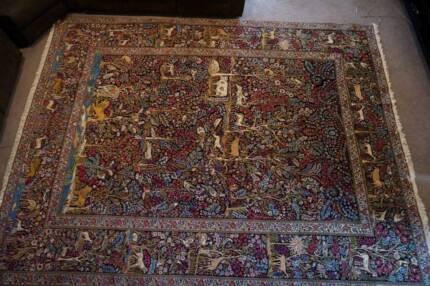 Museum Persian Rug Kerman Tree of Life 360x217cm Antigue