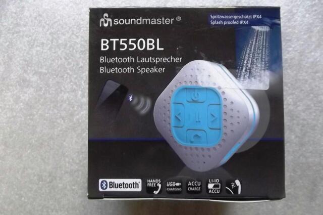 Soundmaster Bluetooth Lautsprecher BT550BL - NEU/OVP