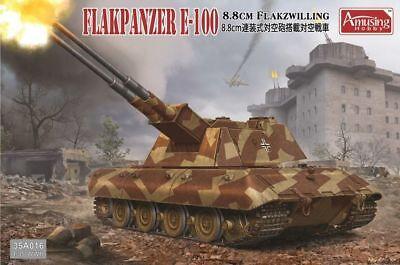 1/35 Amusing Hobby 8.8cm Flakpanzer E-100 #AH35A016