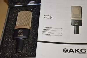 AKG C314 Professional Multi Pattern Condenser Microphone Athelstone Campbelltown Area Preview