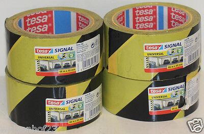 (EUR 0,05/m) Tesa Signal Universal 58133 Signalband Warnband 66m x 50mm